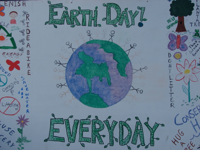 Earth Day everyday... right on!